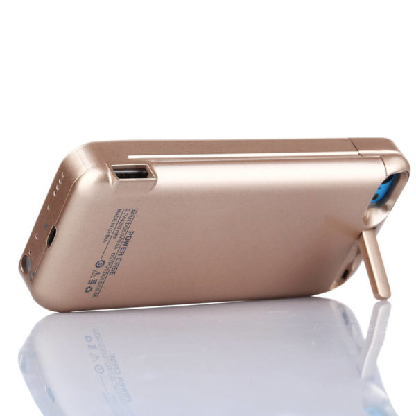 Чехол аккумулятор Prostrum для iPhone 5/5S/5C SE 4200 mAh Gold