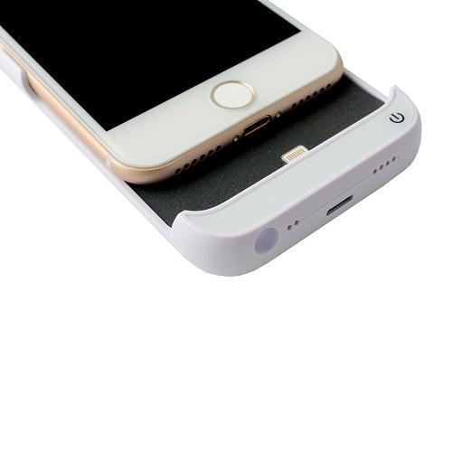 Чехол батарея для iPhone 6/6S/7/8 5500mAh – 4.7 ProStrum White