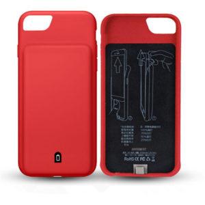 Чехол аккумулятор для iPhone 6/6S/7/8 battery Case – 4500 mah red
