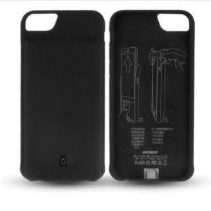 Чехол аккумулятор для iPhone 6/6S/7/8 battery Case – 4500 mah black