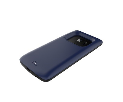 Чехол аккумулятор для Samsung S9 Plus 5200 mah ProStrum Blue