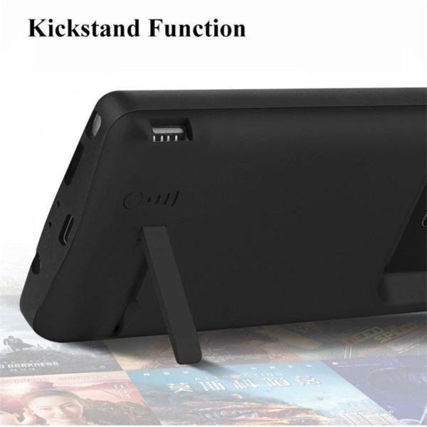 Чехол зарядка для Samsung Galaxy Note 9 5000 mah Prostrum black