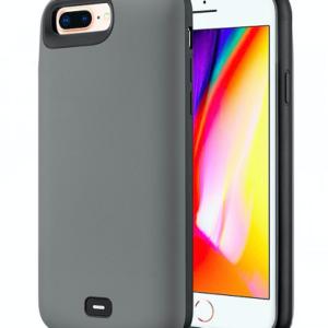 Чехол аккумулятор для iPhone 6+/6S+/7+/8+ battery Case – 8000 mah grey