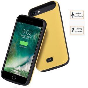 Чехол аккумулятор для iPhone 6/6S/7/8 – 5500mah Prostrum Yellow