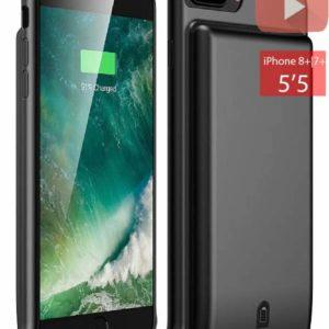 Чехол аккумулятор для iPhone 6+/6S+/7+/8+ battery Case – 7000 mah black