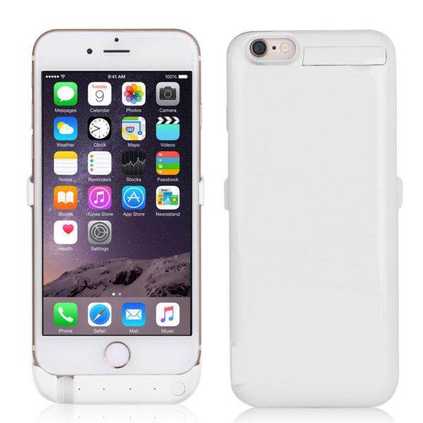Чехол зарядка для iPhone 6/6S/7/8 (4.7) 10000 mah – ProStrum white