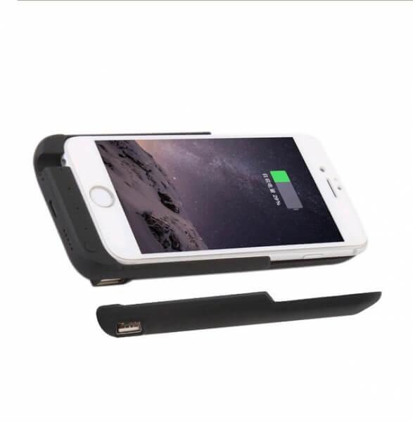 Чехол зарядка для iPhone 6+/6S+/7+/8+ (5.5) 10000 mah – ProStrum black