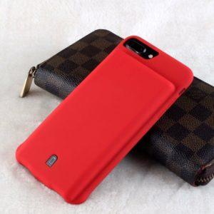Чехол аккумулятор для iPhone6+/6S+/7+/8+ battery Case – 7000 mah red