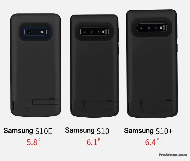 Чехол зарядка для Samsung galaxy S10, S10+, S10e не разочарует пользователей благодаря своим преимуществам