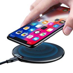 Беспроводная зарядка QI для iPhone X, iPhone 8, Samsung Glitz-3
