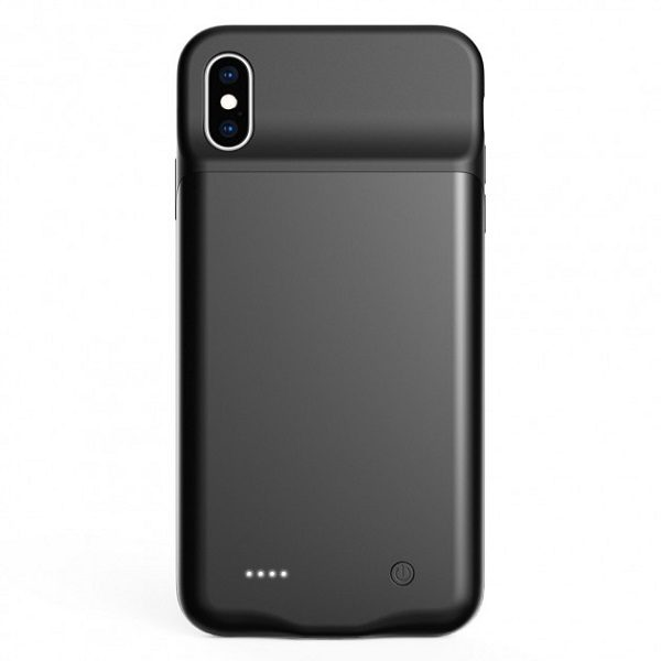 Чехол батарея для iPhone XS max 4000 mAh ProStrum black