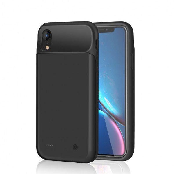 Чехол батарея для iPhone XR 4000 mAh ProStrum black