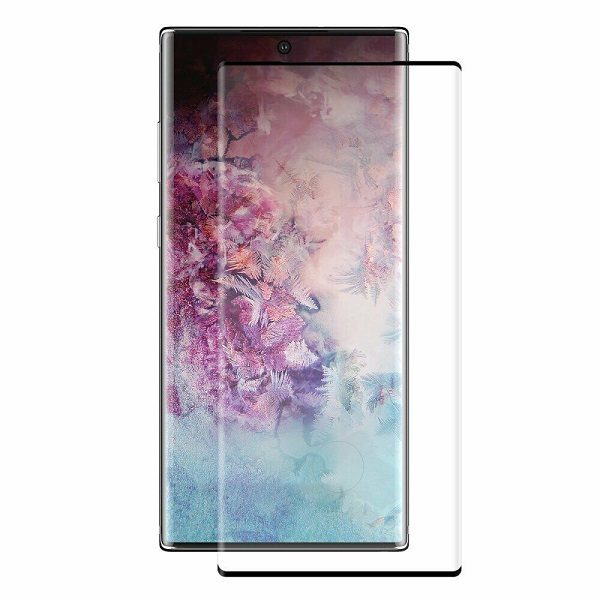 Защитное стекло для Samsung Galaxy Galaxy Note 10+ Tempered Glass Full Covered black
