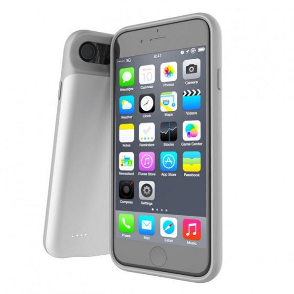 Чехол зарядка для iPhone 6/6S/7/8 3000 mAh ProStrum white