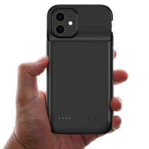 Чехол аккумулятор для iPhone 12 Mini 4700 mAh Prostrum